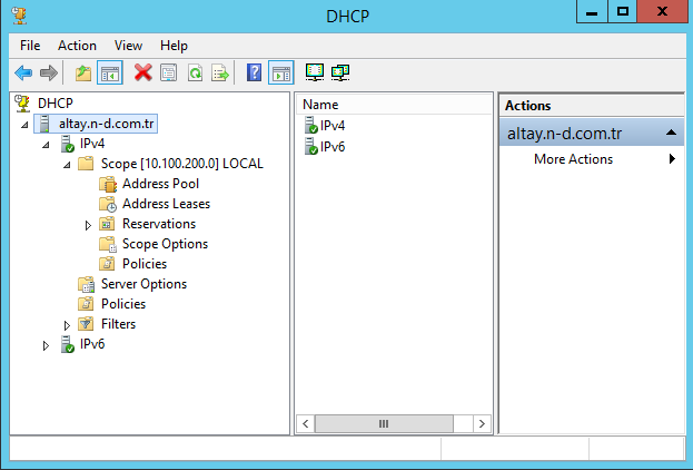 Windows Server 2012 R2 Dhcp Server ile 5651 Nolu Kanuna göre